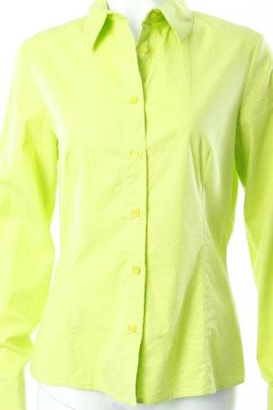Versace Hemd-Bluse neongrün