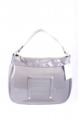 Versace Carry Bag grey leather-look