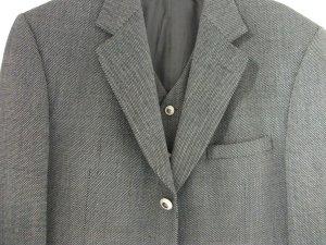 Versace Abito da uomo antracite-grigio