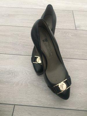 Versace Sandalo con tacco nero