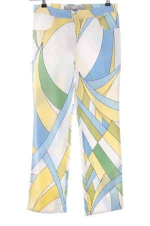 Versace Pantalone a vita alta stampa integrale stile casual