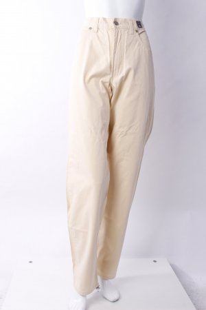 Versace High Waist Jeans beige