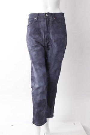 Versace High Waist Jeans dunkelblau