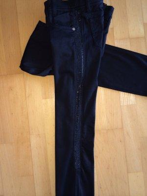 VERSACE Hose mit Swarovski Gr. 27 schwarz *neuwertig*