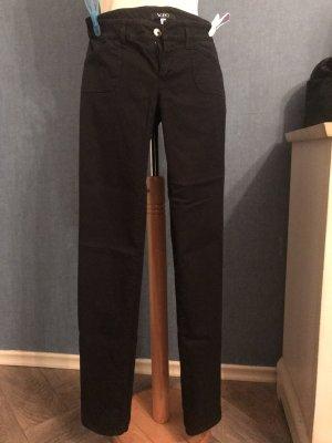 VJC Versace Lage taille broek zwart