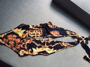 Zwempak zwart-goud Oranje