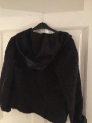 Versace Jacke in schwarz mit Kapuze