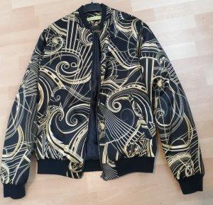 Versace Jeans Giacca bomber nero-giallo