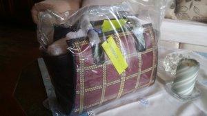 Gianni Versace Bag dark red