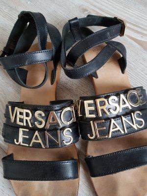 Versace Jeans aus Leder in große 38