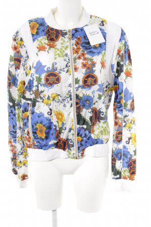 Versace Jeans Blouson flower pattern casual look