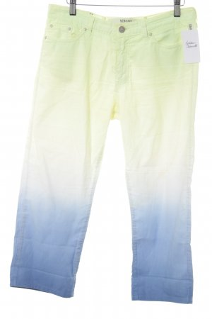 Versace Jeans Couture 7/8-Hose Farbverlauf Casual-Look