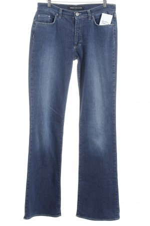 Versace Jeans Couture Boot Cut Jeans dunkelblau Street-Fashion-Look