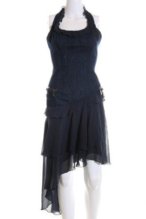 Versace Jeans Couture Jeanskleid blau Casual-Look