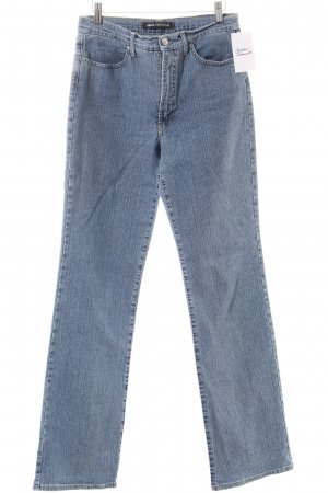 Versace Jeans Couture Jeansschlaghose hellblau Casual-Look