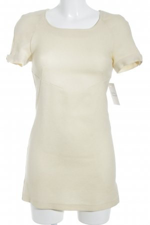 Versace Jeans Couture Mini Dress pale yellow '60s style