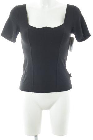 Versace Jeans Couture Sportshirt schwarz schlichter Stil