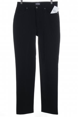 Versace Jeans Couture Jersey Pants black simple style
