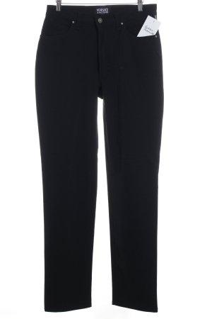 Versace Jeans Couture Stoffhose schwarz schlichter Stil
