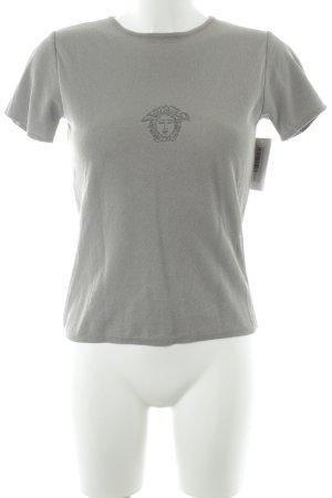 Versace Jeans Couture T-Shirt graubraun klassischer Stil