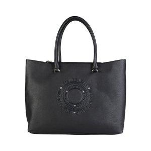 Versace Jeans - Damen Shopper Tasche Handtasche Schwarz Neu