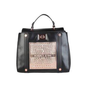 Versace Jeans - Damen Tasche Handtasche Schwarz - Kupfer Neu UVP 320€