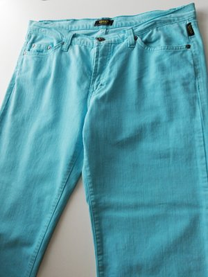 Versace Jeans vita bassa azzurro