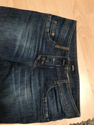 Versace Jeans Couture Jeans a gamba dritta blu scuro-blu