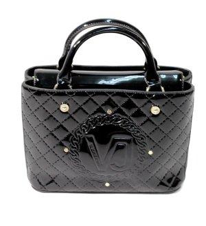 Versace Jeans Handtasche in Schwarz