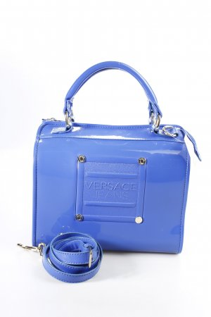 Versace Jeans Henkeltasche blau Street-Fashion-Look