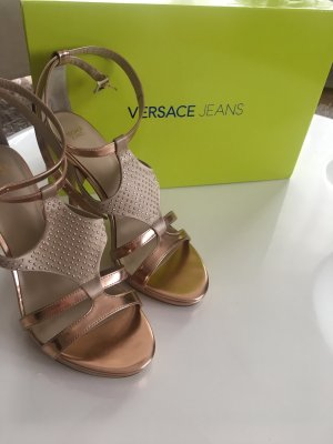 Gianni Versace High-Heeled Sandals rose-gold-coloured-nude