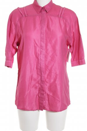 Versace Jeans Short Sleeved Blouse pink simple style