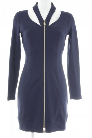 Versace Jeans Langarmkleid dunkelblau Elegant