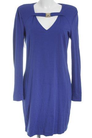 Versace Jeans Langarmkleid neonblau Elegant