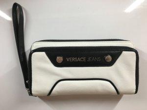 Versace Jeans Portemonnaie Schwarz Weiß