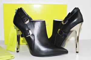 Versace Jeans Pumps Stiefeletten High Heels Schwarz 39 NEU