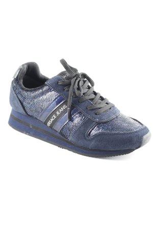 Versace Jeans Schnürsneaker dunkelblau-schwarz sportlicher Stil