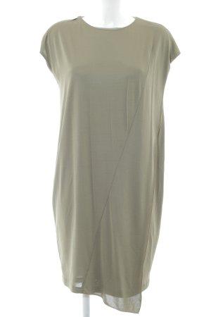 Versace Jeans T-shirt jurk khaki casual uitstraling