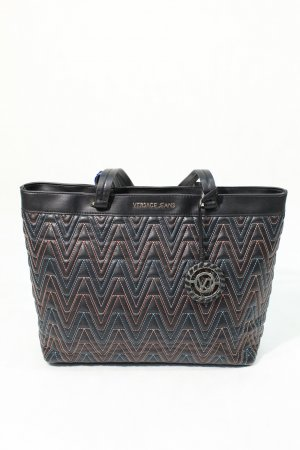 Versace Jeans Shopper in Schwarz