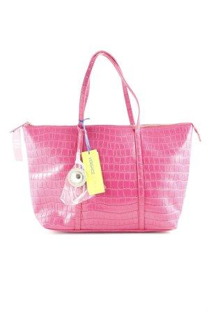 Versace Jeans Shopper pink Business-Look