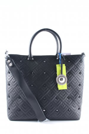 "Versace Jeans Shopper ""Shopper Quilted Studs Nero"" black"