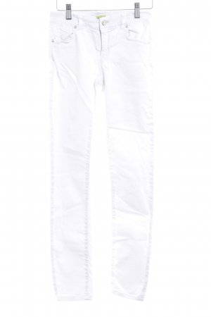 Versace Jeans Skinny Jeans white casual look