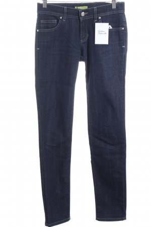 Versace Jeans Straight-Leg Jeans dunkelblau Casual-Look