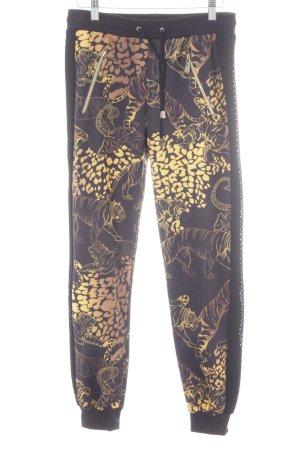 Versace Jeans Joggingbroek abstracte print straat-mode uitstraling