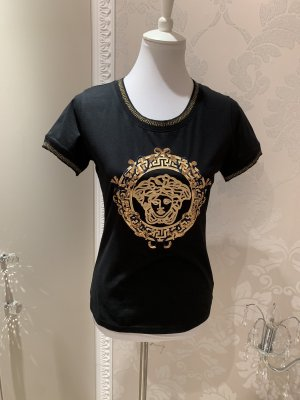 Versace Jeans Shirt black-gold-colored