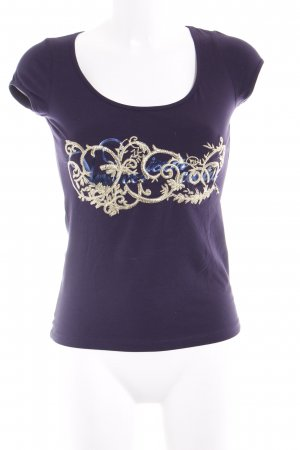 Versace Jeans T-Shirt dark violet casual look