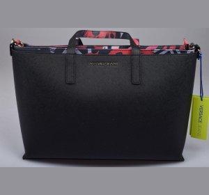 VERSACE Jeans Tasche 2 in 1 Shopper NEU schwarz und pink