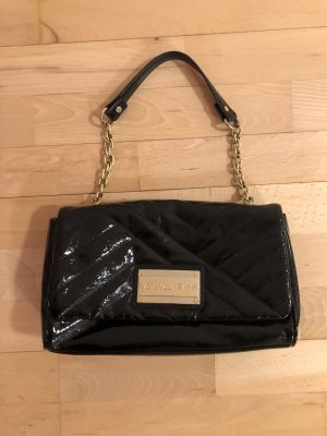 Versace Borsa clutch nero Finta pelle