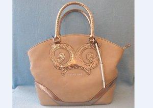 VERSACE JEANS Tasche Handtasche Henkeltasche beige 29 cm NEU E1VHBBR3