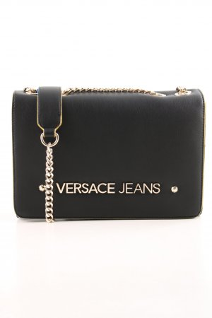"Versace Jeans Umhängetasche ""Logo Crossbody Bag Black"""